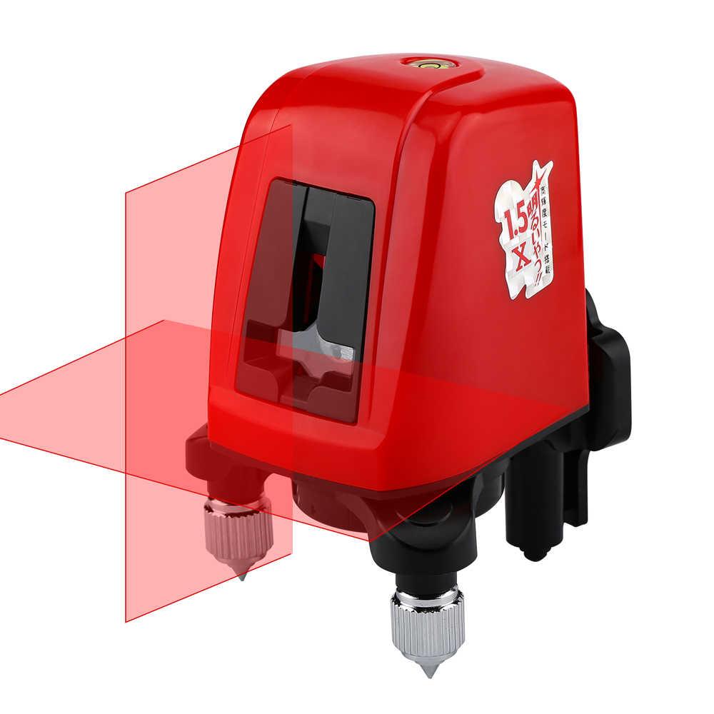 Ak435 mini portátil 3d auto nivelamento dispositivo de nível laser vermelho  360 medidor de distância para a linha de laser medida como ferramentas de  construção| | - AliExpress
