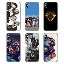 5h Fifth Harmony Lauren Jauregui Logo Poster For iPod Touch iPhone 4 4S 5 5S 5C SE 6 6S 7 8 X XR XS Plus MAX Silicone Case Cover(China)