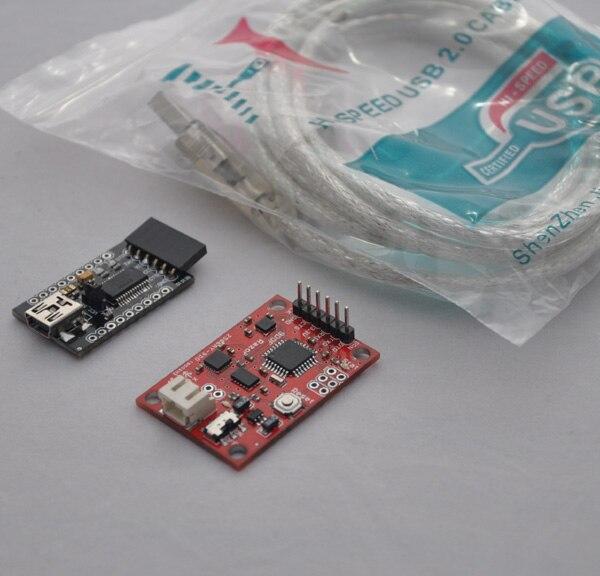 Free Shipping Make For Arduino 9 Free Inertial Navigation 9D OF Razor AHRS Flight Control Self-balancing Trolley Sensing