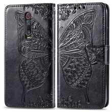 For Redmi K20 Pro Mi 9T Pro Mi9T  Flip Wallet Leather Case On Cover Butterfly Mmbossing Phone Cases For Xiaomi Redmi K20 Pro Cas выпрямитель для волос centek ct 2021