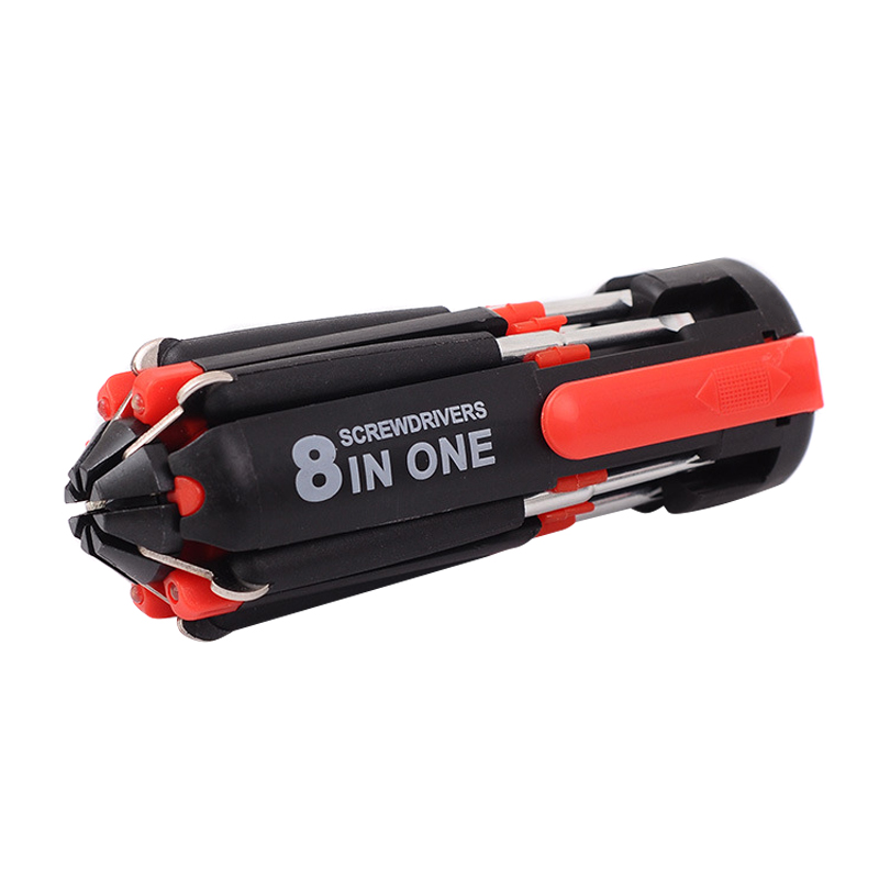 <font><b>8</b></font> <font><b>in</b></font> <font><b>1</b></font> <font><b>Screwdriver</b></font> Multifunctional Tools with <font><b>Flashlight</b></font> for Home Auto Outdoor Best Price image