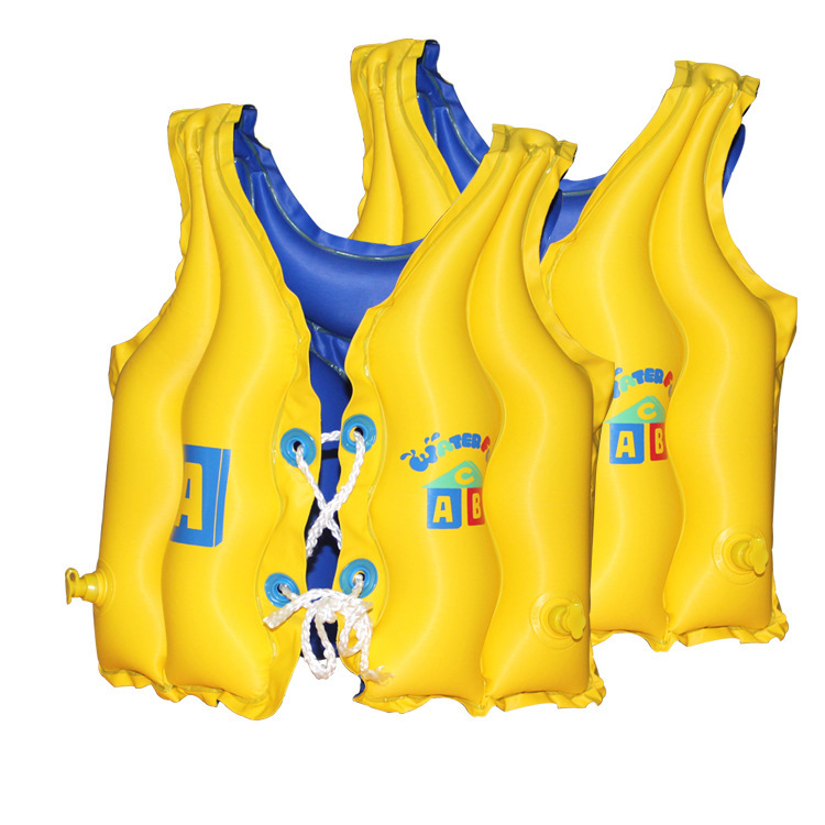 CHILDREN'S Swimwear Safe Floating Diving Swimming Suit Children Buoyancy Waistcoat And Negative Double Purpose