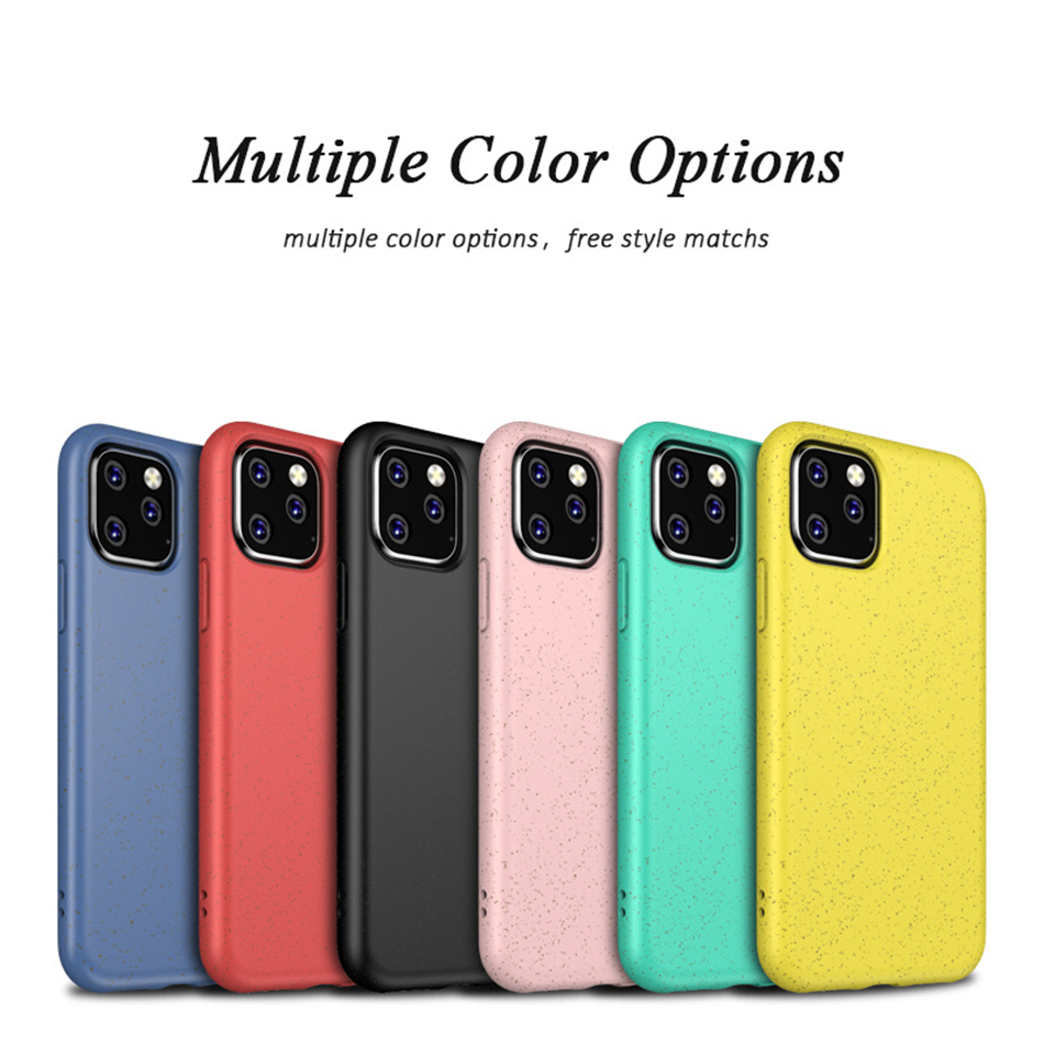 !ACCEZZ Candy Color For iPhone 11 Pro Max Case 2019 New TPU Soft Matte Protection Back Cases Cover Cell Phone Skid Shell Coque (3)