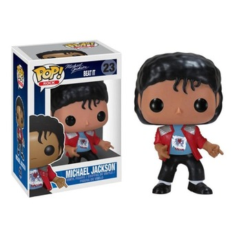 FUNKO POP Michael Jackson Beat It Action Figure Toys 10CM PVC Collectable Model for Kids Chritsmas Birthday Gifts 5