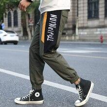 Harem Pants Joggers-Trousers Tactical-Pant Side-Pockets Hip-Hop Men Cargo Casual Streetwear