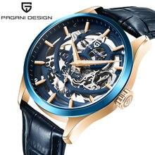 Часы pagani design Мужские механические 42 мм водонепроницаемые