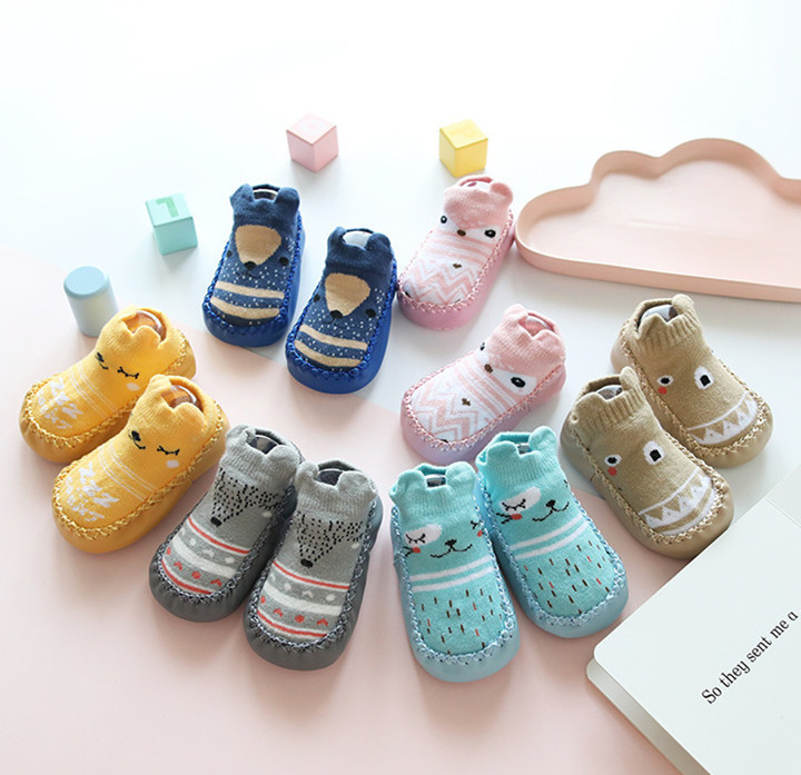 Infant First Walker Leather Baby Boy Socks Shoes Kids  Newborn Toddler Boy Shoes Soft Sole Baby Floor Socks Shoes For Baby Girl