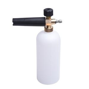 "Image 4 - HNYRI Snow Foam Gun 1/4"" Quick Release Car Washer 1L Bottle High Pressure Water Foam Washing Pump Soap Lance Spray Cannon Jet"