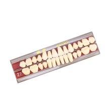 1 caixa de porcelana dente material oral cor sombra guia dentes acessórios (segundo grau 22 #)