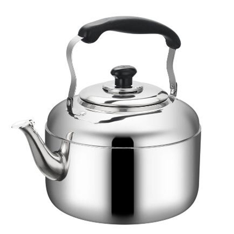<font><b>4L</b></font> 5L 6L Large Capacity Stainless steel piano sound <font><b>kettle</b></font> whistle water pot gas induction cooker universal thickened <font><b>kettle</b></font> image