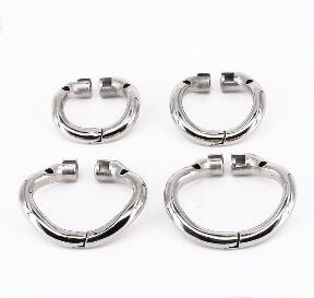 For Male Chastity Devic Cock Cage Penisring Cock ring SODANDY Arc Chastity Base Ring Stainless Steel Curved Penis Ring