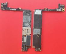 IPhone 7 P için 7 artı 7 + 7 artı delinmiş kaldırmak CPU Baseband 32GB 128GB iCloud kilitli anakart değiştirme CNC kurulu anakart