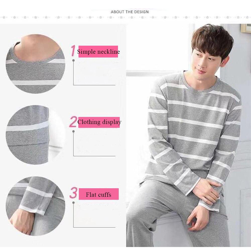 casual masculino pijama conjunto plus size 2xl