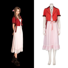 Game Final Fantasy Cosplay Costumes Aerith Cosplay Costume Halloween Carnival Party Anime Women Cosplay Costume Dresses цена и фото
