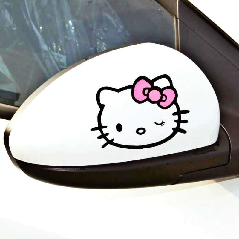 Aliauto 2 X Funny Car Rearview Mirror Stickers and Decal Accessories for Volkswagen Polo Golf 11 X 8 CM