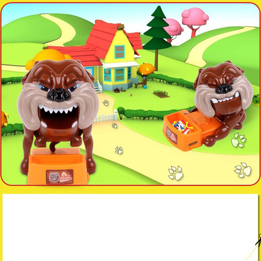 Realistic Children's Toys Teenagers Careful Evil Dogs Desktop Games Parent-Child Creative Funny Toys Electronic Dog