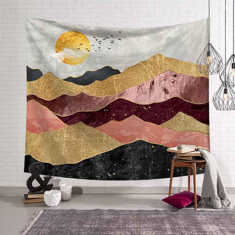 Zeegle การ์ตูนอะนิเมะพิมพ์ Tapestry Home Decor พรมปิกนิกพรมพรมผ้าเช็ดตัวชายหาด Hippie ผ้าห่มญี่ปุ่นแขวนผนัง