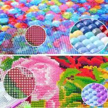 Butterfly Pattern 3D Diy Diamond Painting Cross Ctitch Art Diamond Crystal Embroidery Kits Mosaic Painting Decor T1V5