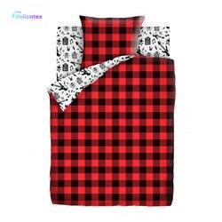 Bettwäsche Sets Delicatex 13109-1 + 13110-1 Rock Hause Textil bettwäsche leinen Kissen Abdeckungen Bettbezug рillowcase baby stoßstangen sets für kinder Baumwolle