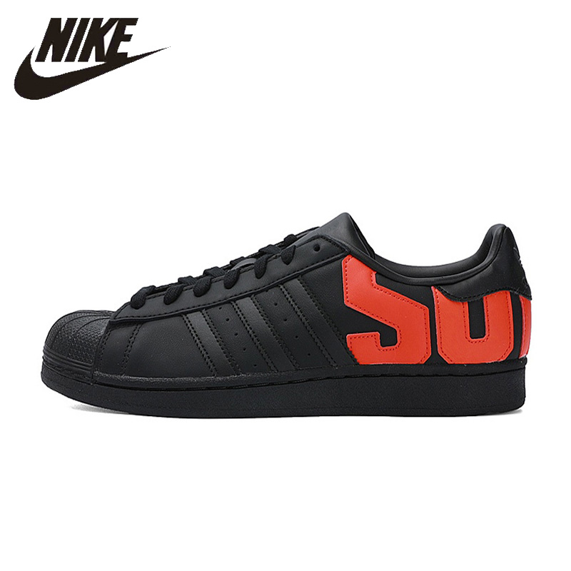 <font><b>Adidas</b></font> <font><b>Originals</b></font> <font><b>Superstar</b></font> Mens Skateboardng Shoes Anti-slip Shell Head Sneakers B37978/b37981 image