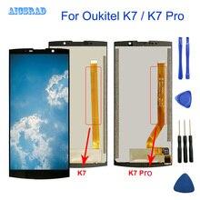 OUKITEL K7 güç dokunmatik LCD ekran ekran 100% orijinal test LCD Digitizer cam Panel OUKITEL K7 / K7 PRO Smartphone
