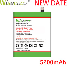 Wisecoco BV7000 2PCS 5200mAh New Powerful Battery For Blackview BV 7000 Pro V575868P Replacement+Tracking Number