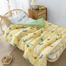 Baby Bed Quilt 120*150cm Toddler Bedding Set Comfy Warm Blanket Kindergarten Boys Girl Cotton Blanket Children Cotton Bed Linen
