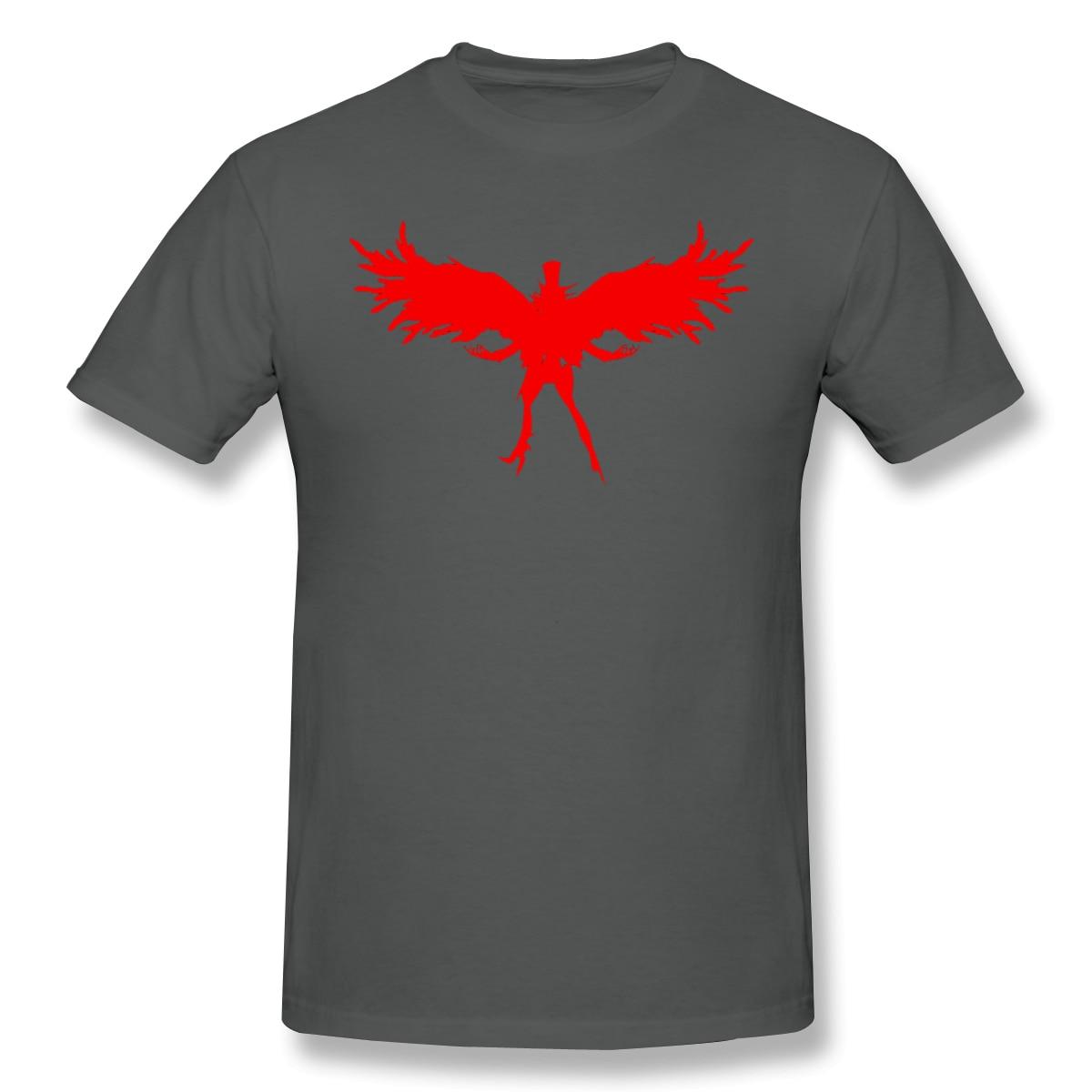 2020  cotton T-shirt Nova de verão t vermelha silhueta de arsene camiseta de algodão persona 5 ofertas camiseta