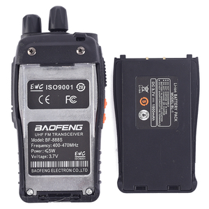 Image 4 - 1PC /2PCS Baofeng bf 888s Walkie Talkie Radio Station UHF 400 470MHz 16CH BF 888s Radio talki walki BF 888s Portable Transceiver