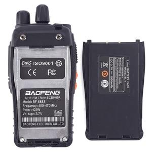 Image 4 - Baofeng Walkie Talkie Radio bf 888s, estación UHF 400 470MHz 16 canales BF 888s, walki BF 888s, transceptor portátil, 1 ud./2 uds.