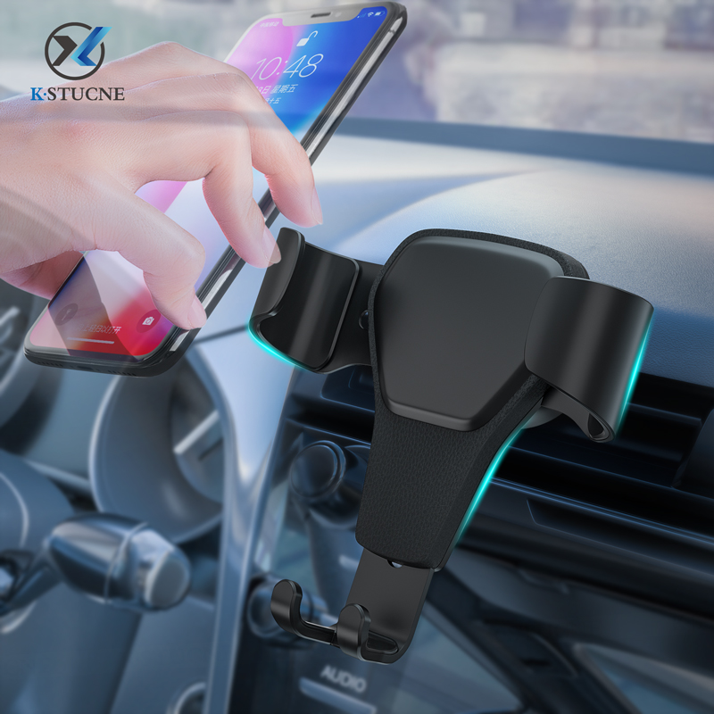 Car Phone Holder For phone in iPhone X 7 Samsung S9 Mount Cell Mobile Support Stand