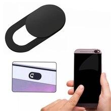 Универсальный чехол для веб-камеры для ноутбуков Крышка объектива камеры слайдер для Mackbook ipad Tablet мобильный телефон защита конфиденциальности стикер анти-открытый