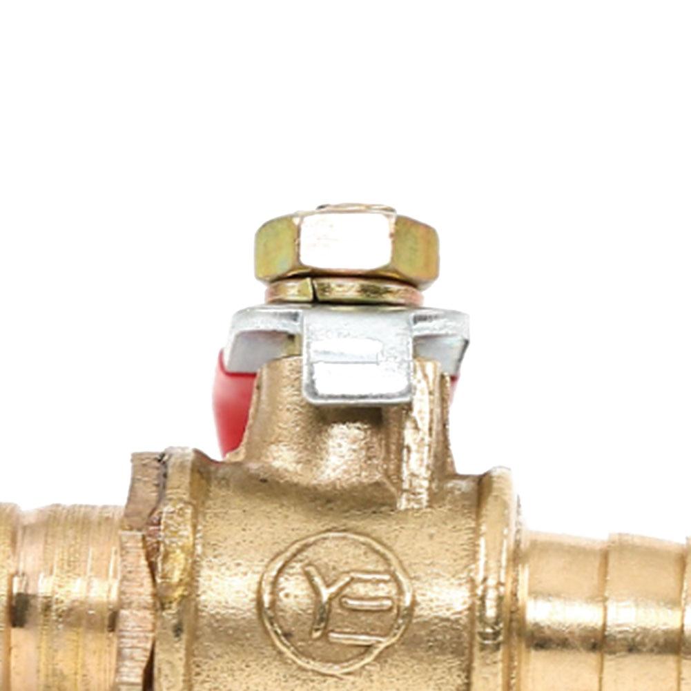 Сменные шланги из нержавеющей стали для подачи воды, воздуха, газа, топлива, пневматическая трубка, медный шаровой клапан, новые практичные трубные шланги