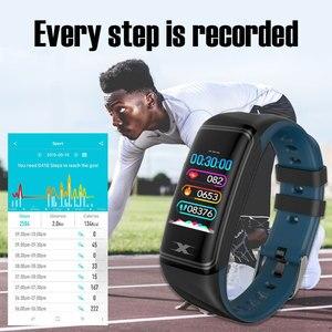 Image 4 - Smart Bracelet IP68 Waterproof 1.14inch Smart Band Heart Rate Blood Pressure Monitor Pedometer Fitness Traker Smart Wristband