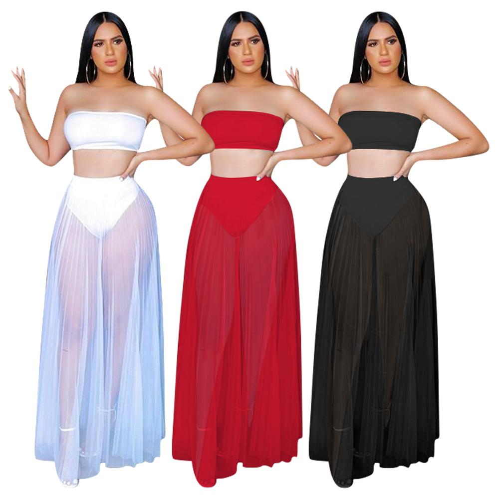 2 Piece Set Summer Clothes For Women Ropa Mujer Skirt Conjunto Feminino Moda Feminina Ensemble Femme Conjuntos De Mujer Womens
