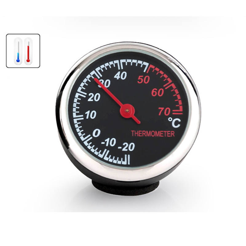 Image 4 - Clock Hygrometer Thermometer Car Accessories Interior Dashboard Car Decorations Ornaments Pendant Quartz Watches-in Ornaments from Automobiles & Motorcycles