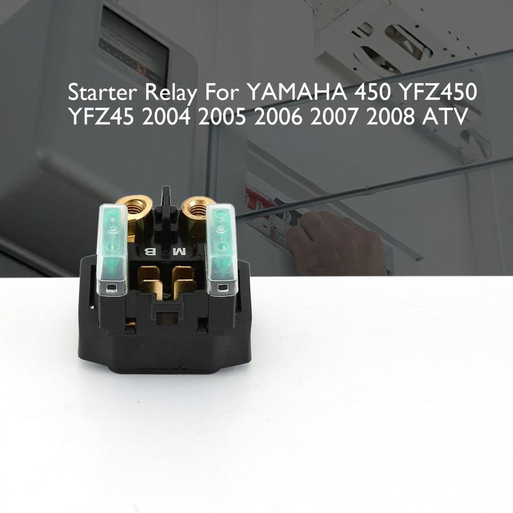 Starter Relay Solenoid YAMAHA 450 YFZ450 YFZ45 2004 2005 2006 2007 2008 ATV NEW