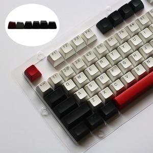 SA key caps 104 keyset Mechanical Keyboard Double Shot Blacklight Keycaps for Cherry MX Switches Sa Profile keycap(China)