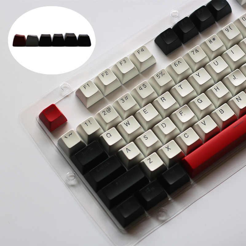 Sa キーキャップ 104 keyset メカニカルキーボードダブルショットブラックライトキーキャップチェリー mx スイッチ sa プロファイルキーキャップ