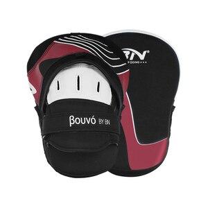 BN 2 шт./лот дуга Санда ММА Муай Тай боксерские подушечки фокусировочные рукавицы кикбоксинг ручной удар мишень боевые искусства тренировочное снаряжение EO