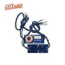 GHXAMP 2 דרך מוצלב בינוני בס רמקולים עם כבל עבור 5 6.5 אינץ 2 8ohm אמצע וופר רמקול מחלק תדר 2PCS