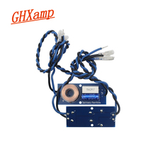 مكبرات صوت جهورية متقاطعة ثنائية الاتجاه GHXAMP مع كابل 5 6.5 بوصة 2 8 أوم مكبر صوت متوسط مقسم التردد 2 قطعة