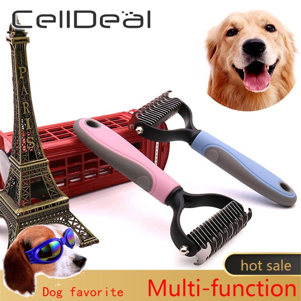 Расческа для удаления волос у собак и кошек