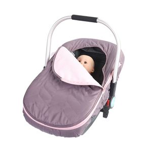Image 4 - יילוד תינוק סל המכונית כיסוי תינוק Carrier חורף קר מזג אוויר עמיד שמיכת סגנון חופה