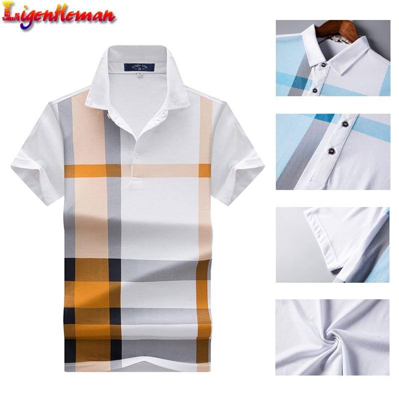 Męska koszulka polo z krótkim rękawem marki mężczyźni casual  xIyUG