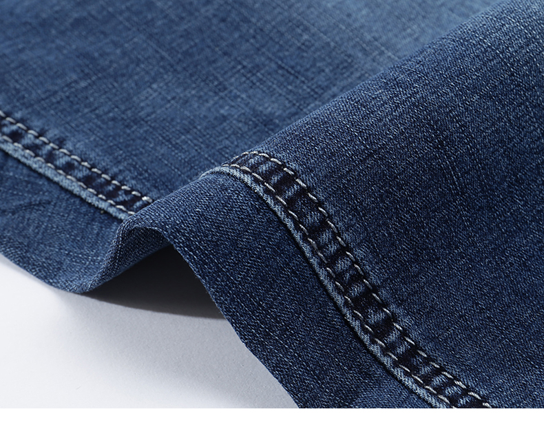 KSTUN Men's Jeans Trousers Summer Shorts Light Blue Stretch Denim Short Slim Fashion Shorts Man