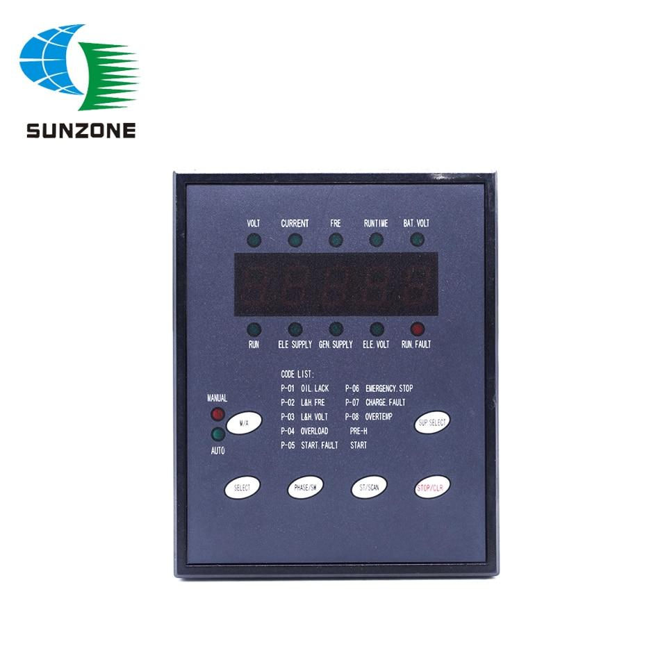 KI-MB3-ATS-D1 KI-MB3(-ATS)-D1 KI-MB3(ATS)-D1 Three Phase Control Monitor Screen For KIPOR KAMA Generator Parts
