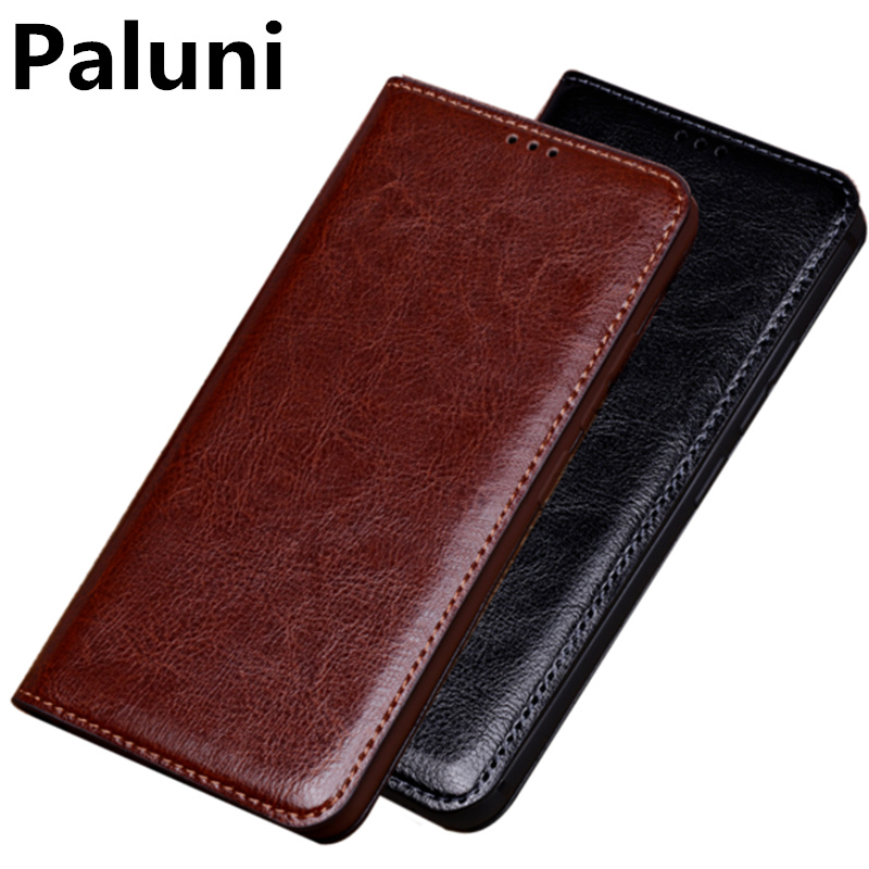 Genuine Leather Retro Vintage Phone Cover For Apple iphone 7 Plus/iPhone 7 Phone Bag Ultra Slim Phone Holster Flip Case Funda