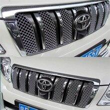 สแตนเลสตาข่าย Pest อุปกรณ์เสริมสุทธิสำหรับ Toyota Land Cruiser Prado 150 2010 2011 2012 2013