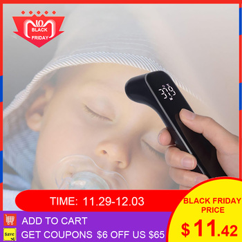 T09 LED Full Screen Smart Body Thermometer 1S Instant Measure Infrared Digital Temperature Meter from Xiaomi youpin